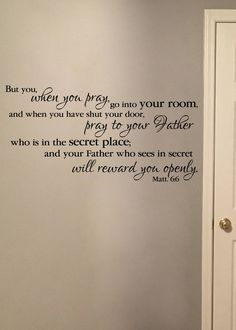 Psalm Except The Lord Build The House They Labor In Vain - Vinyl decals for textured walls