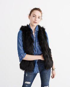 Vegan Faux Fur Vest
