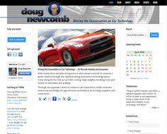 Doug Newcomb, Auto Technology Expert / Website design by re:DESIGN