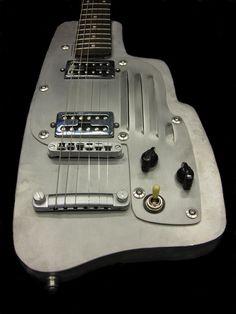 Aluminum-aluminium and steel guitars by longfellowguitars, London - gtrs