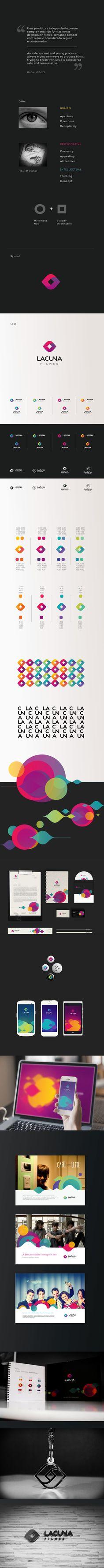 Lacuna Filmes by Amanda Louisi, via Behance
