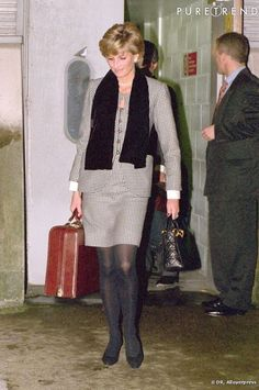 Diana Princess of Wales on an engagement Princess Diana Family, Princess Of Wales, Royal Princess, Princesa Diana, Diana Fashion, Royal Fashion, Diana Williams, Elisabeth Ii, Lady Diana Spencer
