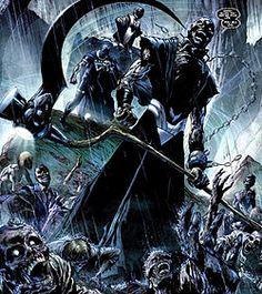 """Death will take us all"" -- Nekron Leader of the Black Lantern Corps (Blackest Night series)"