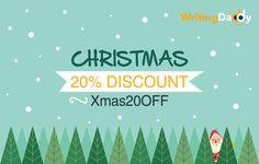 December Sales at WritingDaddy.com!