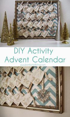 Love this DIY Activity Advent Calendar!!!
