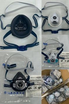 Shigematsu Reusable Respirators are always in stock. Stay protected with Shigematsu's Lightest respirator. #shigematsurespirator #lightrespirator #gasmask #poornarthsolutions Safety Mask, Headphones, Headpieces, Ear Phones