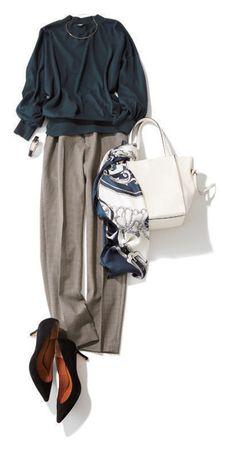 ファッション ファッション in 2020 60 Fashion, Japan Fashion, Office Fashion, Work Fashion, Daily Fashion, Korean Fashion, Winter Fashion, Fashion Outfits, Womens Fashion
