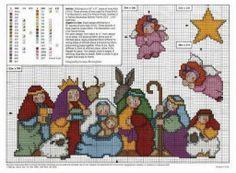 graficos de belenes de navidad | Aprender manualidades es facilisimo.com