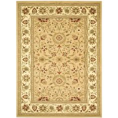 Safavieh Lyndhurst Collection LNH212D Beige and Ivory Area Rug, 9-Feet by 12-Feet