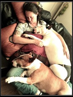 Taking a nap with our babies by mirr_i_am, via Flickr