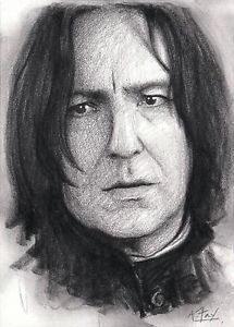 Severus Snape Harry Potter Original Hand Drawn ACEO Sketch Card ...