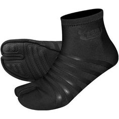 Original Ninja High Split Toe Minimalist Shoes in Black/Black