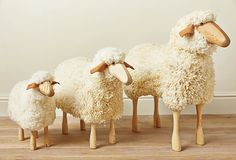 Wood Sheep year 2015 is time to focus on creating a lovely home. Sheep correlates to the Western sign Cancer, the sign of home, family, and roots.
