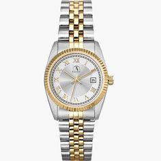 Polished Gold Finish Watch