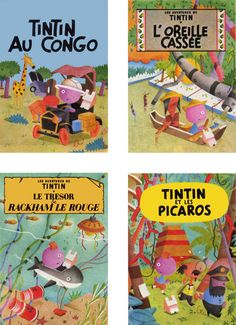 Tintin recovers by Rosse