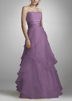 I would want this dress for myself ;P  David's bridal $99 in wisteria