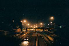 #Film #roadtrip #grain #night