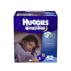 Huggies OverNites Diapers Size 5 Big Pack 52 Count >>> You can find more details by visiting the image link.