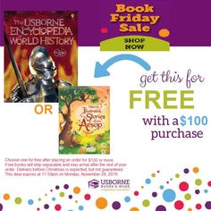 """Shop through this link, and make sure see my name (Lisa Johnson) as the consultant and """"BOOK Friday Cyber Week Sale"""" as the event.   https://shop.bydesign.com/UsborneBooksAndMore/#/shop/fromParty/924cdec4-6cd0-49be-96c3-ebae7946f116/byRep/1104978 #Usborne #blackfriday  ***DO NOT add your free book to your order... the price will not automatically be taken off at check-out. You will be contacted by me to select your free book once a qualifying order is placed"""