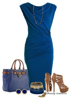 Blue Dress by oribeauty-cosmeticos on Polyvore featuring polyvore beauty River Island House of Harlow 1960 Humble Chic Dooney & Bourke Chinese Laundry