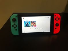 Nintendo Switch Gray Console with Neon Red and Neon Blue Joy-Con for sale online 10 Year Old, 10 Years, Nintendo Switch System, Gamer News, Mundo Dos Games, Only Play, Christmas Stuff, 9 And 10, Ps4