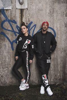 JUNKYARD XX-XY // FILA SS15 Models: Cleo and Näääk