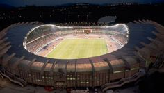 Anoeta Stadium was opened in 1993 for the European Junior Athletics Championships. It has a capacity of 32,000 and is mainly used by the Real Sociedad. #Sport #Football #SanSebastian