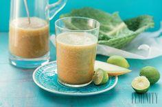 Vyskúšajte zelené smoothie a odhaľte jeho benefity! Omega 3, Cantaloupe, Smoothies, Benefit, Pudding, Fresh, Ale, Desserts, Custard Pudding