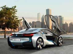 BMW i8 Concept 2011 doors