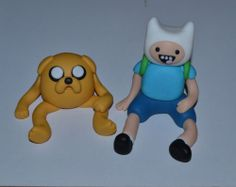 Edible Fondant Adventure Time Cake Toppers | eBay