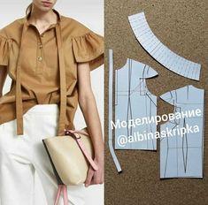 Girls Fashion Clothes, Girl Fashion, Fashion Outfits, Womens Fashion, Dress Sewing Patterns, Clothing Patterns, Pattern Cutting, Fashion Sewing, Sewing Clothes