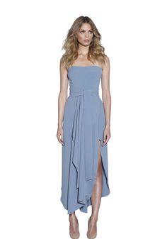BY JOHNNY. Powder Strapless Dress | Contemporary Australian Womenswear