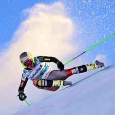 Ted Ligety - Only Me Laying it over on downhill skis is fun...and kinda scary. #gettyimages @head_ski #whatsyourlimit @shredoptics @slytechprotect