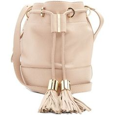 See By Chloé Vicki medium leather cross-body bucket bag