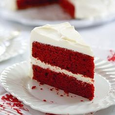Cake - Red Velvet Cake with Cream Cheese Frosting