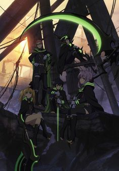 [ANIME] Owari no Seraph reveals its antagonists - http://www.afachan.asia/2015/02/anime-owari-no-seraph-reveals-antagonists/