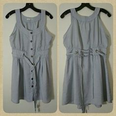 I just added this to my closet on Poshmark: Silver dress. Price: $12 Size: L
