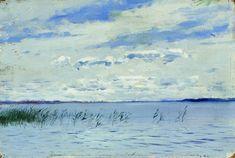 Lac (2) de Isaac Levitan (1860-1900, Lithuania)