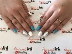 Gel nails 💙
