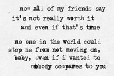 Nobody Compares - One Direction