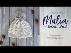 The Malia Slouch (2 sizes) | Little Monkeys Crochet