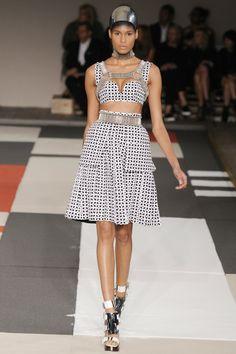 Alexander McQueen RTW Spring 2014 - Slideshow - Runway, Fashion Week, Reviews and Slideshows - WWD.com