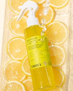 Say hello to our newest limited edition product: Lemonade! 🍋🐝 This hydrating face + body mist is formulated with lemon, hyaluronic acid, aloe, vegan collagen, and a healthy antioxidant boost. The most summery mist ever can provide immediate moisture on those scorching days anywhere on the body. Are you ready to have a glass of Lemonade?! It's released on our site on 7.19.21 💛🍋⭐️🐝✨ Beach Ready, Body Mist, Hyaluronic Acid, Say Hello, Red Bull, Face And Body, Collagen, Lemonade, Aloe