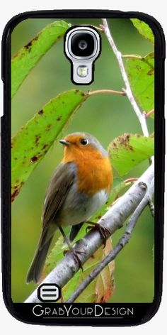 Case for Samsung Galaxy S4 mini - MM - Robin redbreast - by PINO