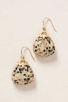 Last Snow Drops #anthropologie----i want these so bad!! why do i always have an addiction to earrings from anthro?!!! i want the clear though