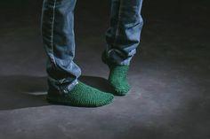 Pantoufles en tricot pour femme par CreationsArtPhoto sur Etsy