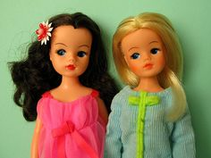 Wow I had these as a child, old Skool cindy ❤ Vintage Barbie, Vintage Dolls, Childhood Toys, Childhood Memories, Barbie Kids, Different Hair Colors, Dollhouse Toys, Sindy Doll, How To Make Clothes