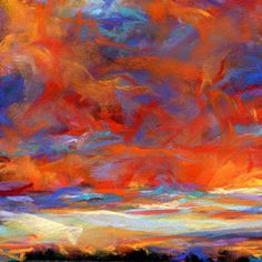DRIPPING - 4 x 4 pastel by Susan Roden, painting by artist Susan Roden Pastel Artwork, Colorful Paintings, Pastel Sky, Soft Pastels, Sea Texture, Aesthetic Art, Aesthetic Painting, Landscape Sketch, Sky Art