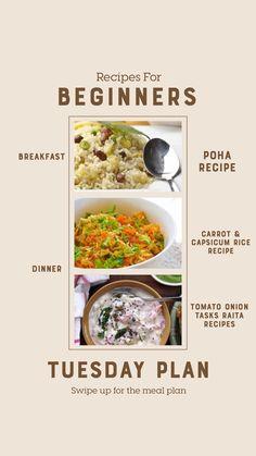 Weekly Recipes For Beginners - Mushroom Curry, Spicy Aloo Chutney Sandwich And Much Chutney Sandwich, Mushroom Curry, Oatmeal Porridge, Breakfast Recipes, Dinner Recipes, Stuffed Mushrooms, Stuffed Peppers, Households, Recipes For Beginners