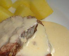 Rindfleisch mit Kartoffeln und Meerrettichsoße